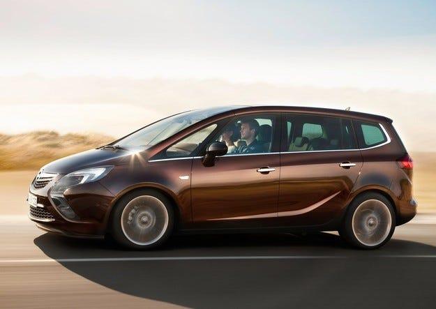 Емисиите на Opel Zafira влизат в законовите граници