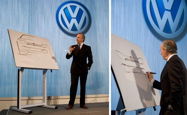 Главният дизайнер на Volkswagen напуска компанията