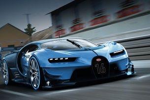 Показаха от всички страни прототипа Bugatti Chiron (видео)