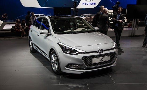 Новият Hyundai i20 спечели Златен волан за 2015 година