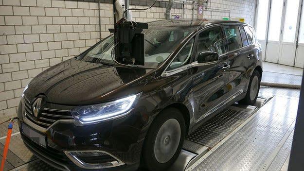Немската агенция DUH тества дизелов Renault Espace