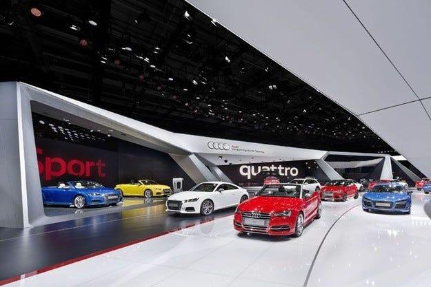 Audi, Mercedes и BMW без нови шоурумове в Москва