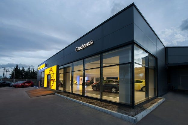 Нова корпоративна идентичност за дилърите на Opel