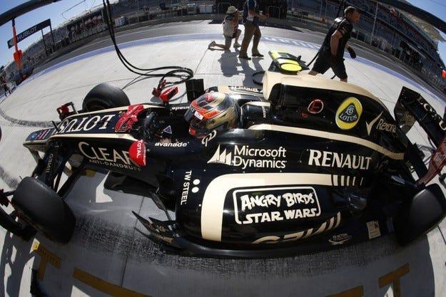 Lotus е натрупал рекордни загуби за 2013 година