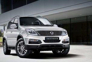 Кроувърът SsangYong Rexton получи нов дизелов мотор