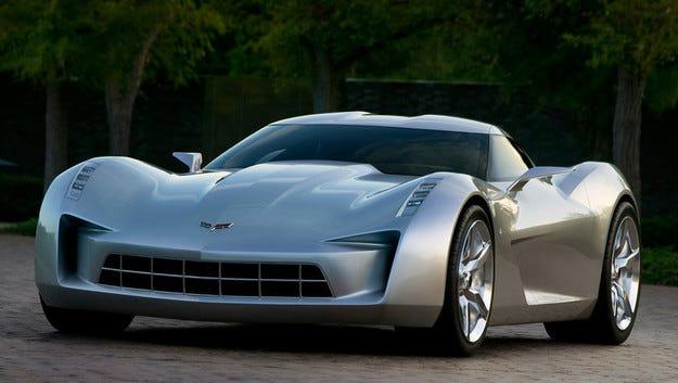 GM подаде заявление за търговска марка Corvette E-Ray