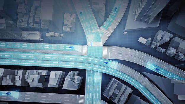 Автомобилите Toyota сами ще си създават пътни карти