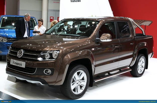 Компанията Volkswagen обновява пикапа Amarok