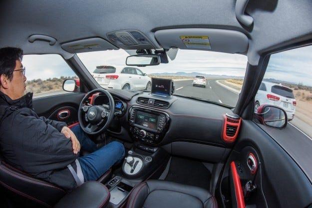 Kia представи подмарка за автомобили с автопилот (видео)