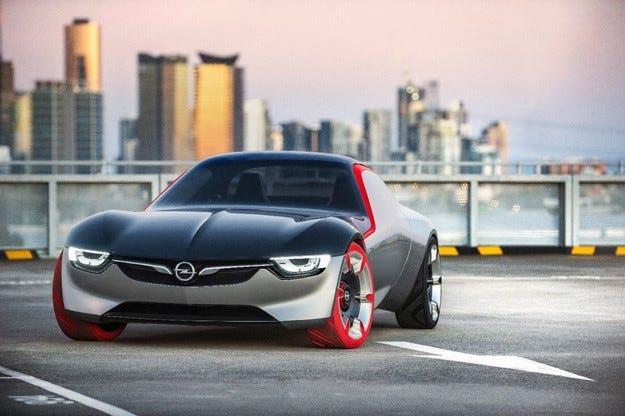 Opel GT Concept: Това е бъдещето на спортните модели