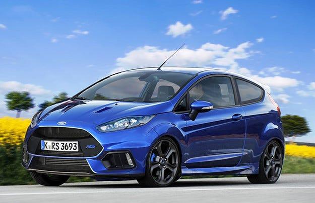 Ford отрече информацията за разработване на Fiesta RS