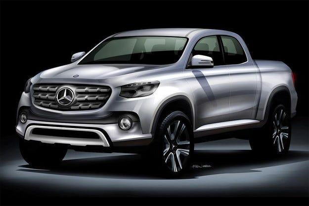 Първият пикап на Mercedes ще се нарича X- или Z-класа