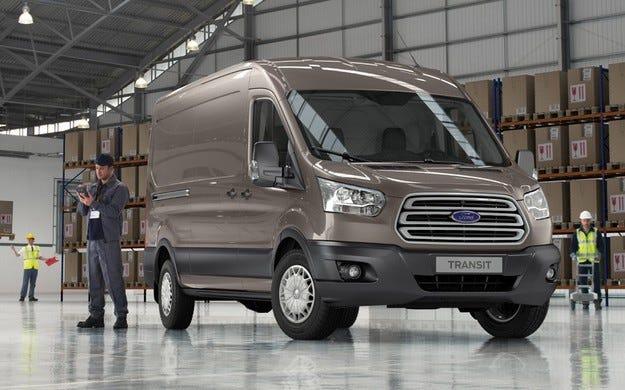 Ford отново е лекотоварна марка №1 в Европа