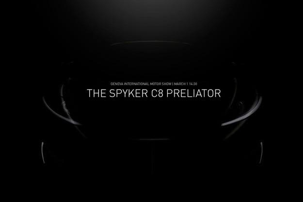 Spyker показва в Женева суперавтомобила C8 Preliator
