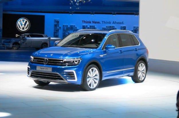 Volkswagen пуска версия крос купе на модела Tiguan