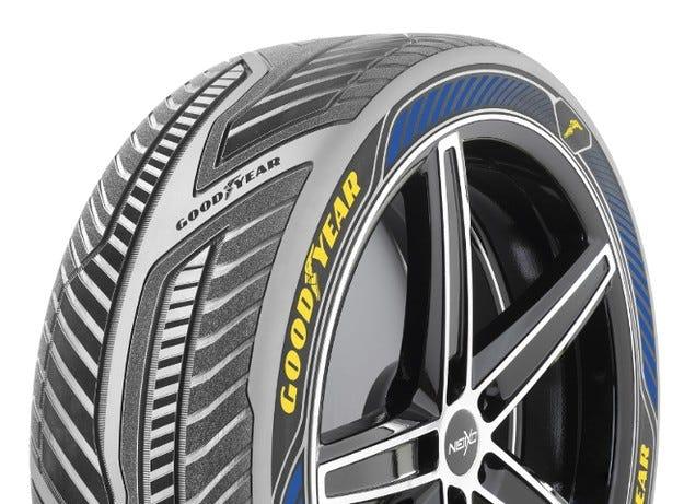 Goodyear с концептуална гума за автономни автомобили
