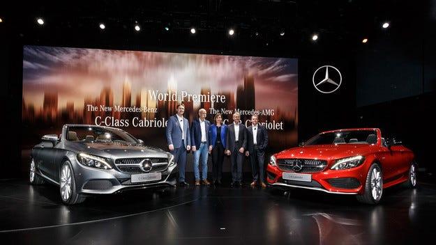 Mercedes-Benz на автомобилното изложение в Женева