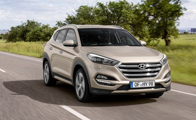 Офроудърът Hyundai Tucson получи нов дизелов двигател