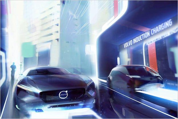 Volvo иска унифицирани зарядни станции за електромобили