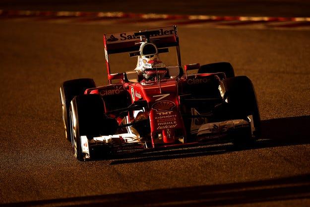 Двигателят на Ferrari е претърпял най-много промени