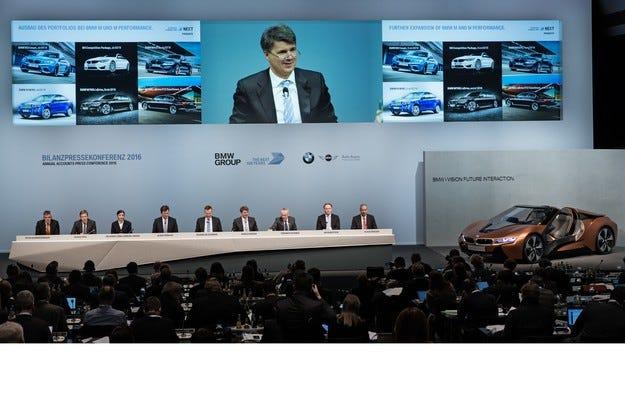 BMW отчете 92 милиарда евро приходи за 2015 година
