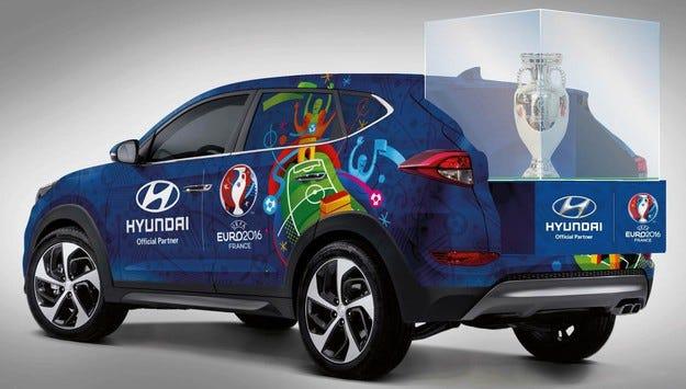 Hyundai Motor е официалният превозвач на евротрофея