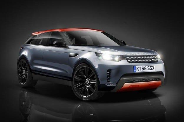 Jaguar Land Rover разработва конкурент на BMW X6
