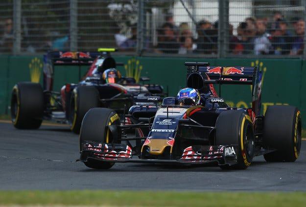 Верстапен: Toro Rosso е третият по сила отбор