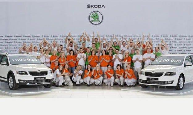 Skoda Octavia III премина летвата от 1 милион екземпляра