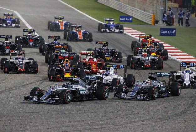 Гран при на Бахрейн: Розберг пак е номер едно!