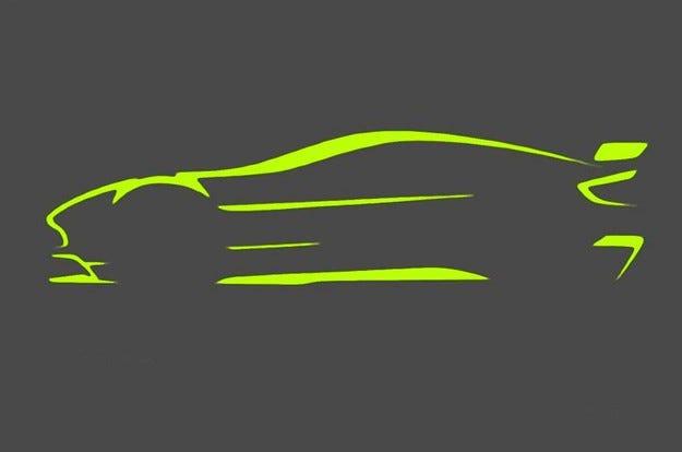 Aston Martin пусна първия тийзър на състезателен Vantage
