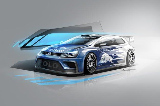 VW показа новия Polo R WRC