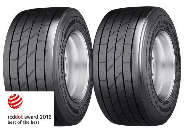 Conti Hybrid HT3 обра световните награди за дизайн