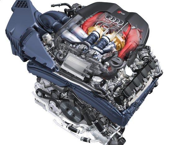 Двигателната гама на Audi - Част 2: 4.0 TFSI