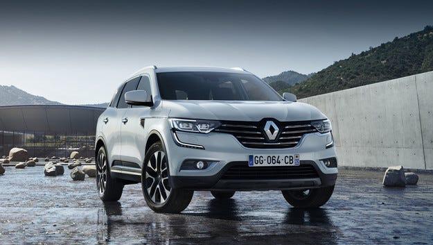 Renault разкри външния вид на кросоувъра Koleos