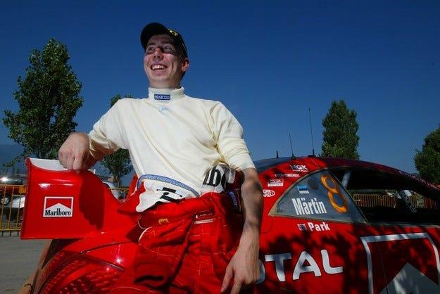 Марко Мартин подписа със Subaru