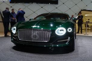Новото Bentley Continental GT ще бъде хибрид