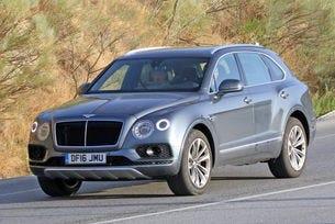 Bentley разсекрети първия си дизелов модел
