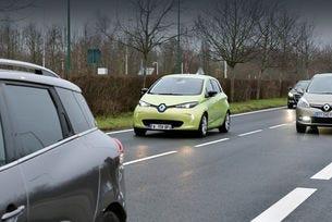 Renault тества автономен Zoe в китайския град Ухан