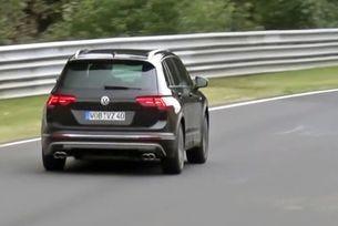 Показаха на видео спортния вариант на Volkswagen Tiguan