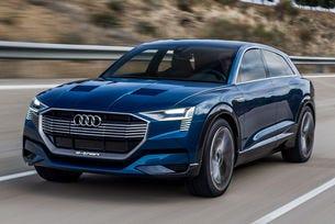 Audi E-Crossover: От 2019 с автономен пробег от 600 км