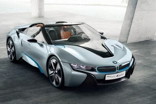 BMW ще представи роудстъра i8 през 2018 г.