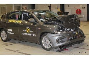 Fiat Tipo с двусмислени резултати от Euro NCAP