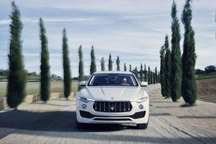 Bridgestone оборудва първия кросоувър на Maserati