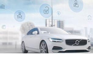 Volvo Concierge Service: Сервизни услуги от приложение