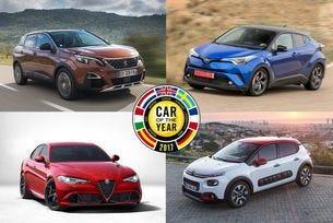 """Известни са финалистите за """"Кола на годината в Европа"""""""