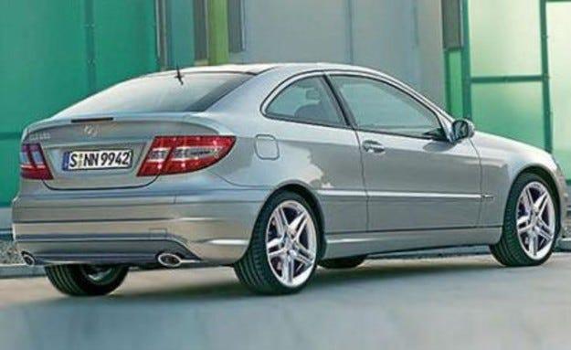 Mercedes CLC: Наследникът
