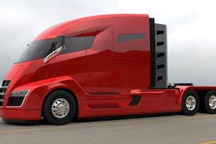 US компанията Nicola представи камион на водород