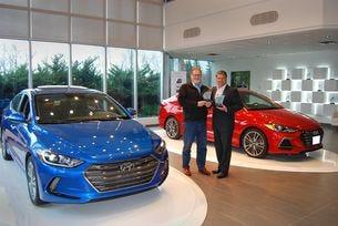 Hyundai Elantra печели награди в две категории на AJAC