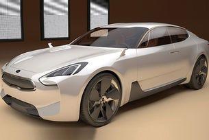 Kia показва елементи от дизайна на най-новия си модел